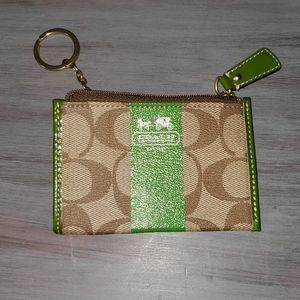 Coach Keychain Cardholder